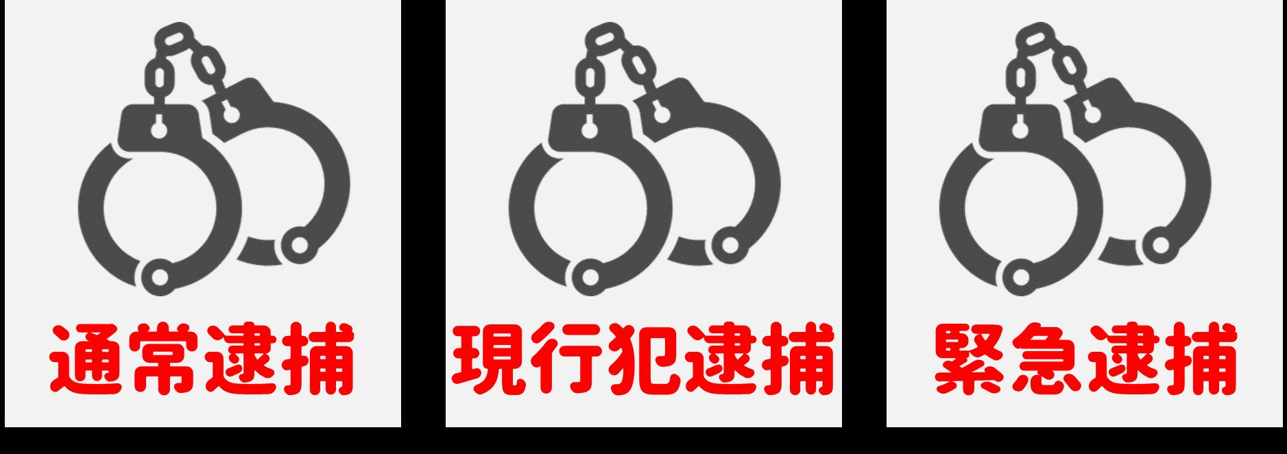 逮捕の種類
